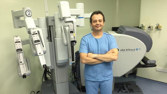 Marcos Flávio Rocha Cirurgia robótica